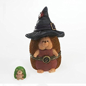 Boyds Halloween Bear - Boyds Bears Hedgehog Treasure Box - Witchley Hallowhedge