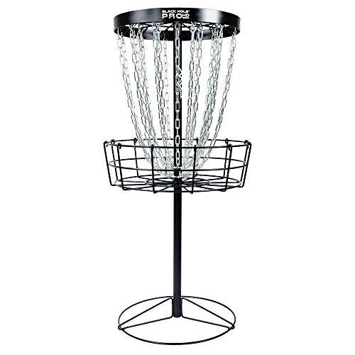 MVP Black Hole Pro HD 24-Chain Portable Disc Golf Basket Target (The Best Disc Golf Disc)