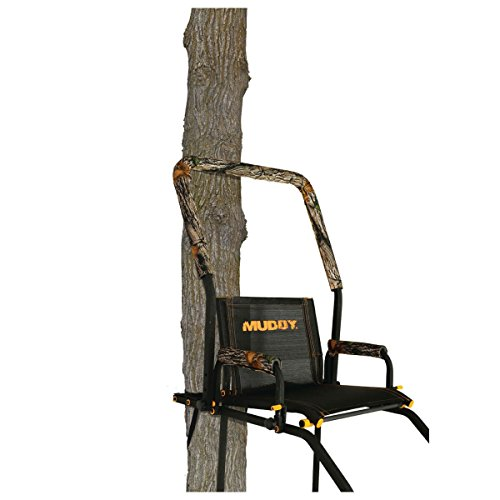 Muddy Huntsman Ladderstand, Black - Ladder Stand