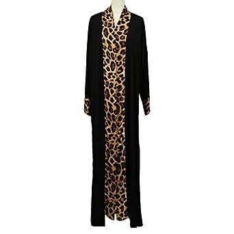 GH Design Black Casual Abaya For Women
