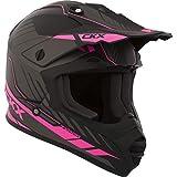 CKX Unisex-Adult's Off Road Fuel TX228 Helmet (Matte Pink, Large)
