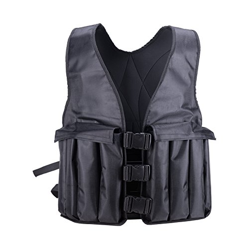 Pinty Adjustable Weighted Vest 20lbs Weight Running Vest for Strength Training Fitness Workout