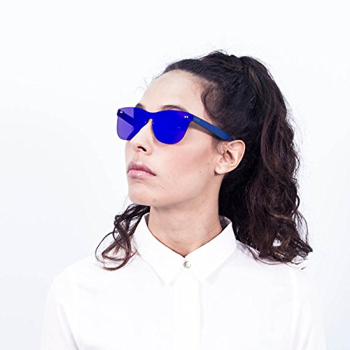 Ocean Sunglasses FLORENCIA Lunettes de soleil Unisexe Bleu