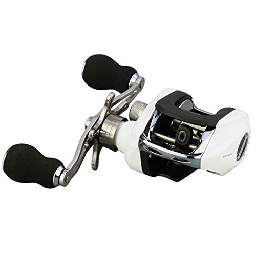 Legend Series High Speed Spinning Reel Low Profile Reel Baitcasting Reels Zulmuliu (White,Right - Legend Fly Fishing Reel