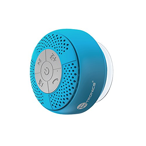 Bluetooth Shower Speaker, TaoTronics Water Resistant Portable Wireless...