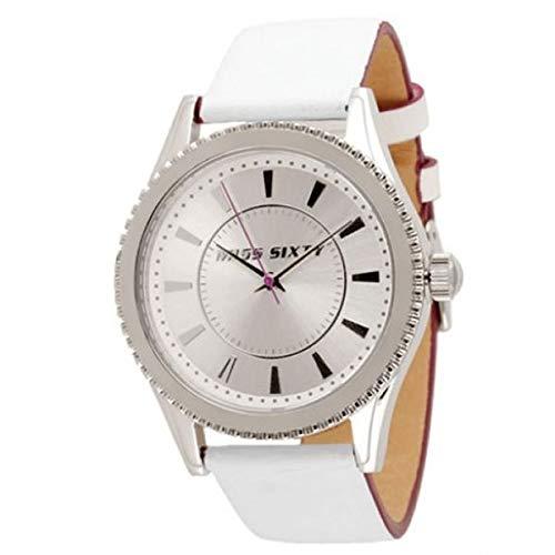 Miss Sixty Reloj Analógico para Mujer de Automático con Correa en Cuero R0751103506: Amazon.es: Relojes
