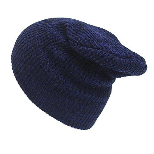 cálido unisex invierno sombreros Red BLUEUK sombrero para informal invierno suave de mujeres accesorio sombrero sombrero punto hombres Black cálido FBEE1xwqI