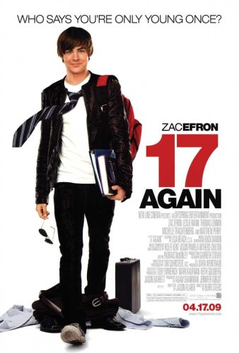 Pop Culture Graphics 17 Again - 27 x 40 Movie Poster