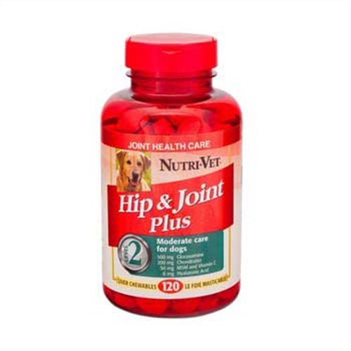 Nutri-Vet Hip and Joint Plus Chewable Tablets for Dogs, 75 count, My Pet Supplies