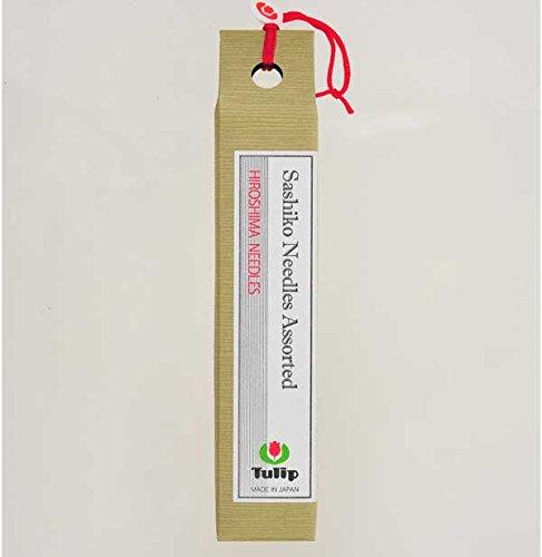 - Tulip Long Sashiko Needles Assorted Tube of 6