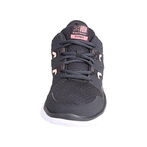 course Official de Run pied Chaussures anthracite Douma femme Jogging Gris Karrimor Shoes pour Baskets à Sneakers corail fqw1rf