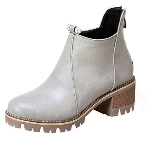 Grey AIYOUMEI Grey Boot AIYOUMEI Classic Boot Classic WoMen WoMen q76r8q