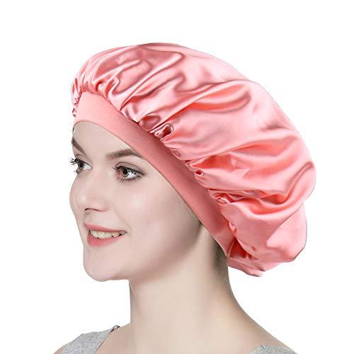 Women Versatile Bonnet Wraps Satin Sleeping Cap for Chemo Patients