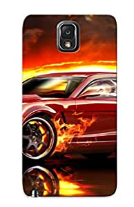 New Fashion Premium Tpu Case Cover For Galaxy Note 3 - Chevrolet Camaro Ss Case For New Year's Day's Gift