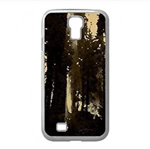 Dark Forest Watercolor style Cover Samsung Galaxy S4 I9500 Case (Forests Watercolor style Cover Samsung Galaxy S4 I9500 Case)