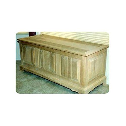 (Woodworking Project Paper Plan to Build Raised Panel Hope Chest)