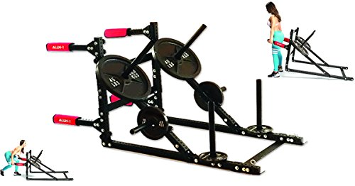 ALLN-1: Gladiator Power Sled (Push, Pull, Lift, HIIT Trainer) by ALLN-1