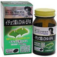 野口医学研究所 イチョウ葉&DHA+EPA60粒5個セット B01LX5M3QP