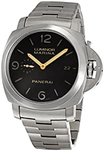 Panerai Men's PAM00352 Luminor Marina Brown Dial Watch