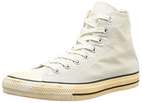 Converse Chuck Taylor All Star Homme Vintage Washed Back Zip Twill HI, Sneaker, Uomo Avorio (Elfenbein (31 Ecru))
