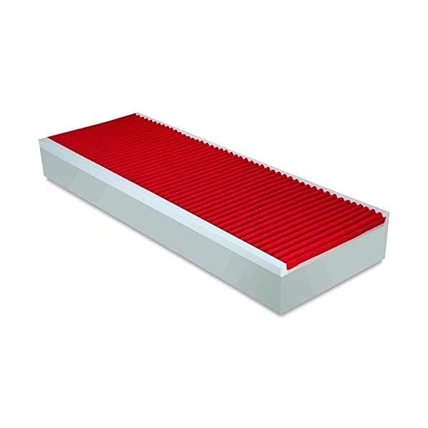 EVERGREENWEB - Materasso Singolo 80x190 in Memory Foam Alto 22 cm con Cuscino Cervicale Gratis Lastra Massaggiante… 6 spesavip