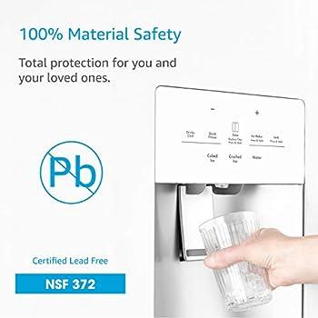 AQUACREST DA29-00020B Replacement Refrigerator Water Filter, Compatible with Samsung DA29-00020B, DA29-00020A, HAF-CIN/EXP, 46-9101 Water Filter (Pack of 6)