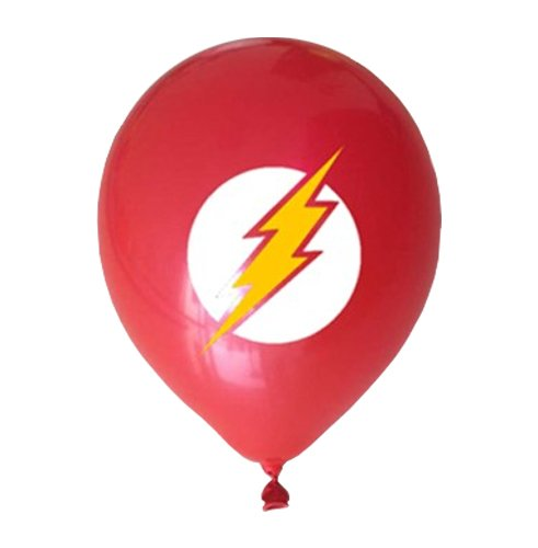 Justice League Superhero Emblem 21 Count Party Balloon Pack Large
