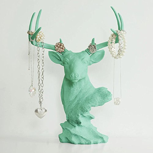 Necklace Rack Deer by Wall Charmers - Metallic Jewelry Di...