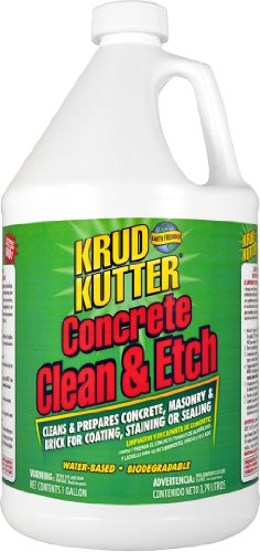 Krud Kutter CE01 Concrete Clean and Etch with Bland Odor, 1 Gallon (Brick Patio Acid Cleaner)