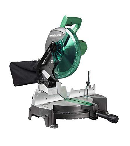 "Metabo-HPT C10FCGSM 15-Amp 10"" Compound Single Bevel Miter Saw (Renewed)"