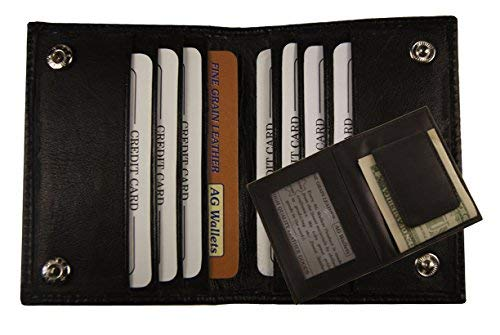 e584c0c75af6 Image Unavailable. Image not available for. Color  AG Wallets Mens Leather  Bifold ...