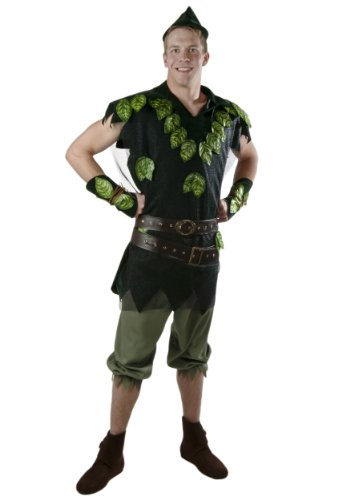 Fun Costumes Deluxe Peter Pan Costume X-large (Peter Pan Costume Men)