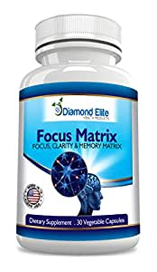 Natural MEMORY Pills - Supports MENTAL CLARITY & FOCUS - Increases Energy and Helps REDUCE DEPRESSION and ANXIETY - SUPER GINKGO BILOBA with ST. JOHNS WART and BACOPIN - 100% MONEY BACK GUARANTEE!