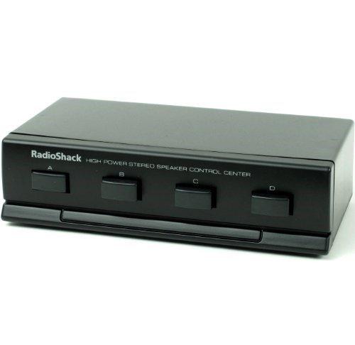 (RadioShack High Powered Four Way Stereo Speaker Selector Control Center)