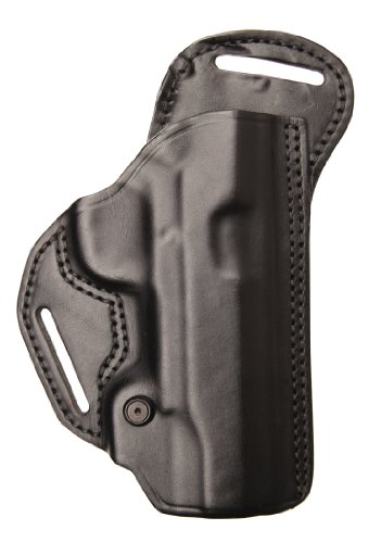 BLACKHAWK! Leather Check-Six Black Holster, Size 23, Right Hand, (Kahr CW9/CW40/P9/P40 (K9/K40))