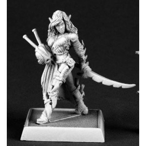 Reaper Miniatures 60072 Pathfinder Series Chivane, Red Mantis Assassin Miniature by Reaper