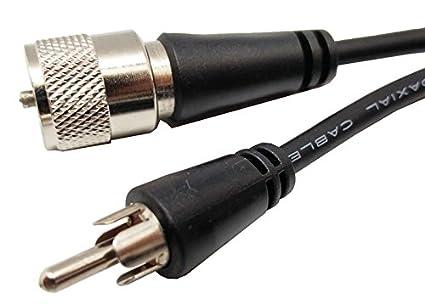 Euroconnex - Conexiones Audio- Video conexión UHF MACHO - RCA MACHO, RG-59