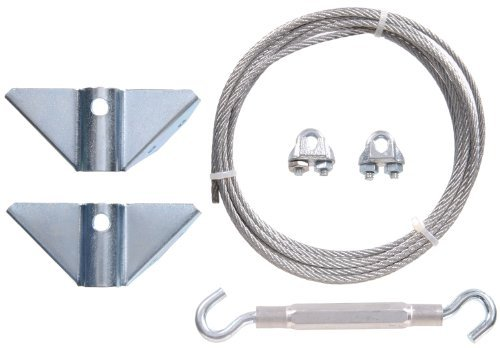 The Hillman Group 851362 Gate Anti-Sag Kit, Zinc Plated (2) by The Hillman Group