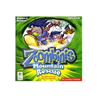 Amazon com: Zoombinis Mountain Rescue - The Math and Logic