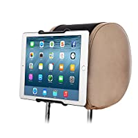 TFY Universal Car Headrest Mount Holder, Fits ALL 7 Inch to 11 Inch Tablets - Apple iPad, iPad 4 (iPad 2 & 3), iPad Air, iPad Mini 2/3/4 - iPad Pro 9.7