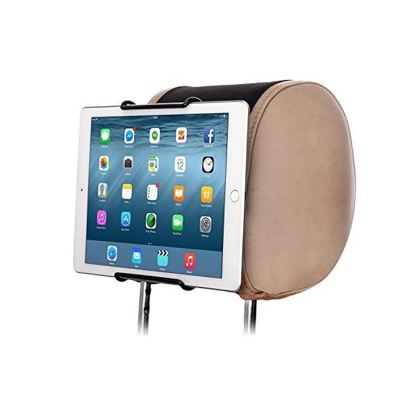 TFY-Universal-Car-Headrest-Mount-Holder-Fits-ALL-7-Inch-to-11-Inch-Tablets-Apple-iPad-iPad-4-iPad-2-3-iPad-Air-iPad-Mini-234-iPad-Pro-97-Samsung-Galaxy-Tab-Note-and-More