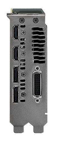 ASUS TURBO-GTX1060-6G - Tarjeta gráfica (GeForce GTX 1060, 6 GB, GDDR5, 192 bit, 7680 x 4320 Pixeles, PCI Express 3.0): Amazon.es: Informática