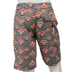 6ce74b2008 Amazon.com  paul frank gray monkey swim trunks  Clothing