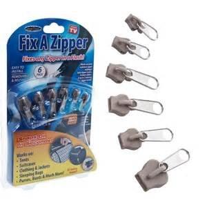 Fix a Zipper - Gold