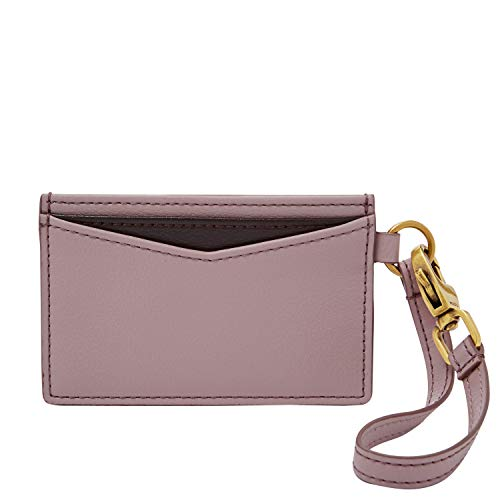 Fossil Card Case Orchid Tint, One Size ()