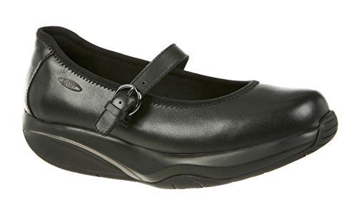 MBT Shoes Women's Tunisha Mary Jane Casual Shoe: Black/Nappa 8 Medium (B) Buckle