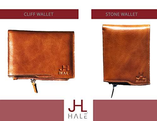 Amazon.com: JL HALE billetera de piel auténtica para hombre ...