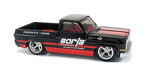 Hot Wheels 2018 Car Culture Shop Trucks 1983 /'83 CHEVY Chevrolet SILVERADO Borla