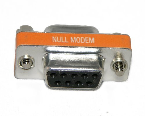 Bargain Cable DB9 Female / DB9 Female Null Modem Mini Adapter