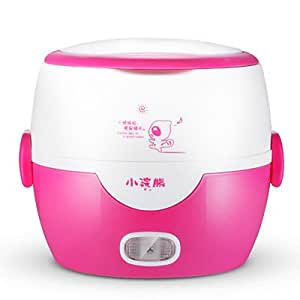 Small Raccoon 1.3L Input Voltage 220V Electric Cooking Lunch Box Mini Rice Cooker Steam Cook Keep Warm Heating